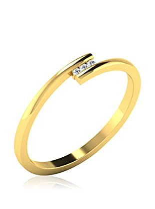 Friendly Diamonds Anillo FDPXR7422Y (Oro Amarillo)