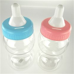 com plastic milk bottle coin bank baby shower favors 13 inch jumbo