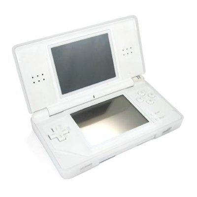 Nintendo DS Lite Silicone Skin Case - Clear White