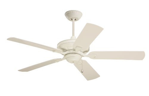 Emerson CF552AW Veranda Indoor/Outdoor Ceiling Fan, 52-Inch Blade Span, Summer White Finish and All-Weather Summer White Blades