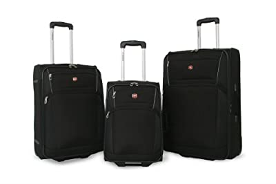 Wenger 7230 Upright Luggage Set - Black by Wenger