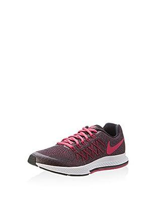 Nike Zapatillas Zoom Pegasus 32 (Gs) (Negro / Rosa)