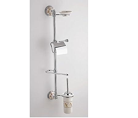 Asta attrezzata wc Linea Amalfi - oro