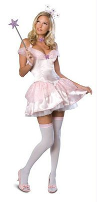 Sexy Glinda The Good Witch Costume Adult X-Small 2-6 Wizard of Oz