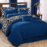 American Denim Duvet Cover Size: King
