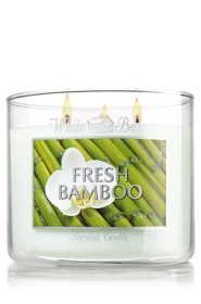 White Barn & Co14.5 Oz. 3-wick Candle Fresh Bamboo