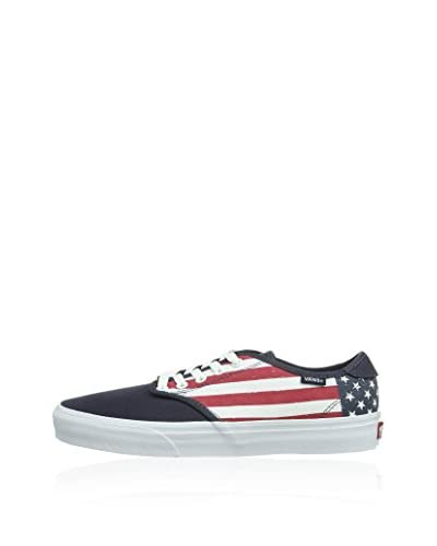 Vans Sneaker M Camden (Camo) [Blu/Rosso/Bianco]