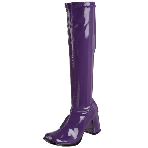 Women's Costume Boots, Purple
