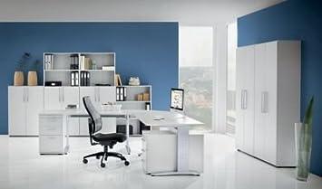 office akktiv NICOLA Armoire de bureau - 4 tablettes, h x l x p 1880 x 800 x 346 mm blanc - armoire armoire de bureau armoire pour bureau armoires armoires de bureau armoires pour bureau mobilier de bureau Armoire de bureau Armoires de bureau Mobilier de