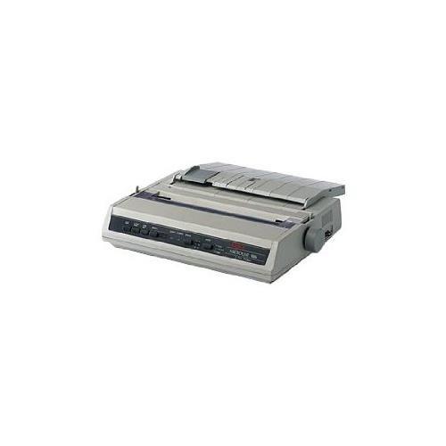 Okidata Oki Microline 186 Parallel Dot Matrix Printer 9-Pin - 375 Cps Mono - 240 X 216 Dpi - Parallel, Usb - 120V - Esc/P - Ibm Dos Win Linux - Beige 62422301