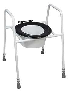 Réhausseur de Lunette de WC avec Cadre Métal