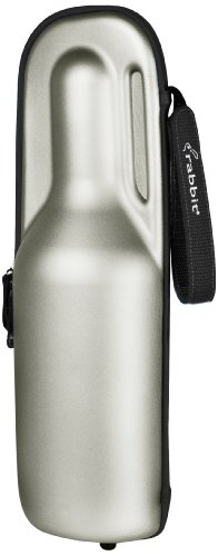 Rabbit Wine Trek Portable Bottle Cooler (Silver and Black) (Portable Champagne Cooler compare prices)