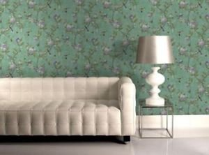 Graham and Brown Chinoiserie Wallpaper - Jade by New A-Brend