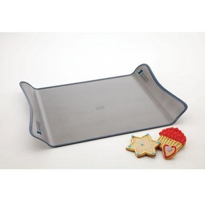 Chicago Metallic 26214GABS 14-Inch by 13-1/2-Inch Non Stick Great American Bake Sale Winged Cookie Sheet