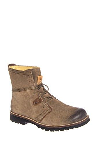 Kalahari Low Heel Lace-Up Boot