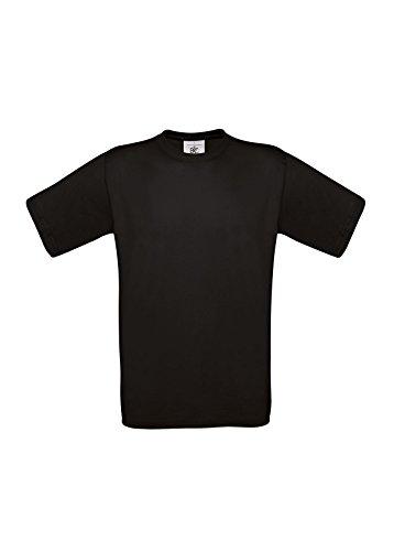 B&CHerren T-Shirt Schwarz Schwarz XXL,Schwarz - Schwarz