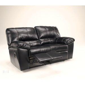 Black Reclining Loveseat - Signature Design by Ashley Furniture
