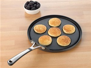 Calphalon Nonstick Simply Calphalon Nonstick Silver Dollar Pancake Pan at Sears.com