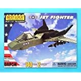 Jet Fighter 140 Piece Construction Toy With Action Figure