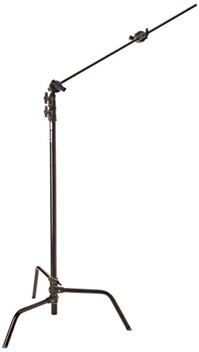 Avenger A2030DCBKIT Steel 40-Inch Detachable Base C-Stand with Grip Kit (Black)
