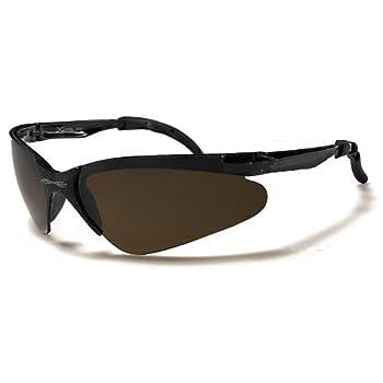 X-Loop Lunettes de Soleil - Sport - Cyclisme - Ski - Conduite - Moto - Plage / Mod. 3870 Brun Cristal / Taille Unique Adulte / Protection 100% UV400