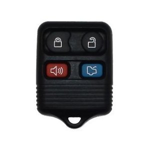 1999-2010 FORD MUSTANG 4 Button Remote Keyless Entry Key Fob with Quick and Easy Programming Instructions