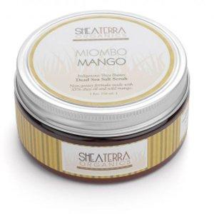 Miombo Mango Dead Sea Salt Scrub 8 oz.