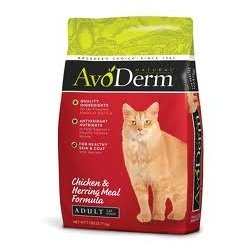 Detail image AvoDerm Natural Chicken & Herring Meal Formula Adult Cat Food - 14 Pounds