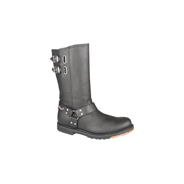 Mens Harley   Davidson Diablo Harness Boots Black, BLACK, 11M(D)