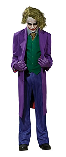 Rubies Mens The Dark Knight The Joker Grand Heritage Collection Marvel Costume