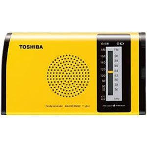 TOSHIBA 防水充電ラジオ TY-JR50(Y)