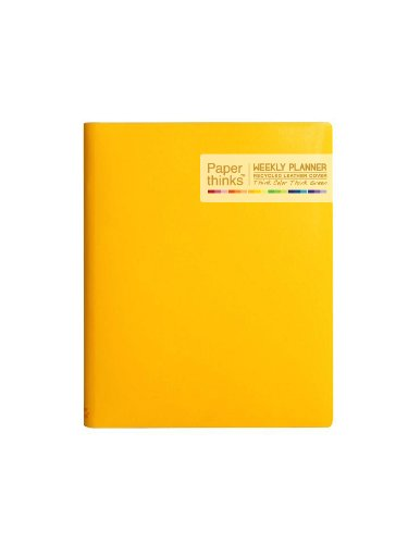 paperthinks-yellow-gold-extra-large-2014-recycled-leather-weekly-planner-7-x-9-inches