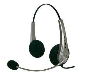 Smith Corona Aries Plus Binaural Usb Headset - Call Center & Home Reps