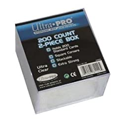 UltraPro 200ct 2-Piece Plastic Box