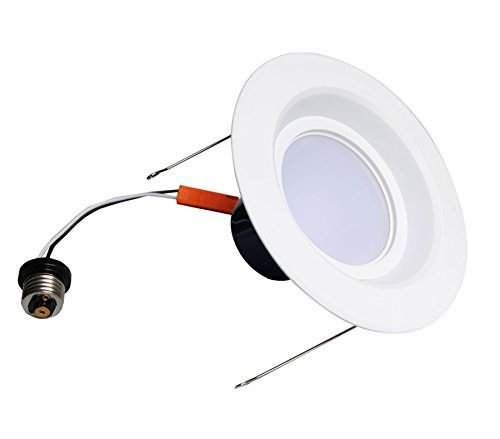 Royoled Ry-Ul19015-6 15W 3000K 6 Inch Dimmable Ul Standard Ultra Bright Led Downlight Recessed Lighting Kit Replaces Other Traditional Lighting,Round
