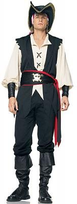 Captain Jones Pirate Men's Costume