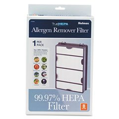 Replacement Modular Hepa Filter For Air Purifiers, 10 X 6 1/2 X 2 front-552897