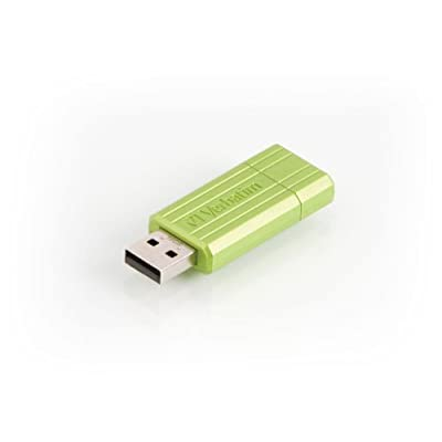 "Hi-Speed Store'N'Go 16 GB,""Pin Stripe, Eucalyptus Green"