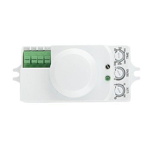 huber-motion-55hf-detecteur-de-mouvement-360-blanc-montage-en-saillie-encastrable-efficace-sur-le-pl