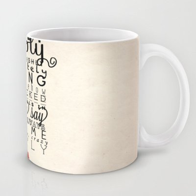 Society6 - One Direction: Truly Madly Deeply Coffee Mug By Mafleur