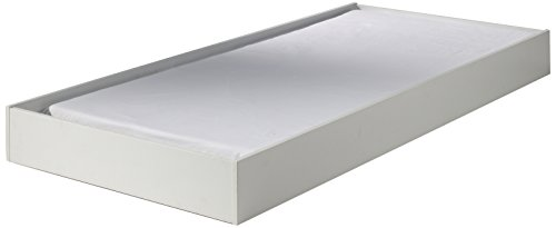 Vipack MIRB9014 Milan Lit et Tiroir Panneaux Blanc 93,8 x 199 x 17,5 cm