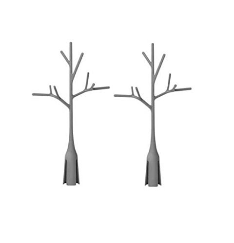 Boon Twig Grass and Lawn Drying Rack Accessory, Warm Grey, 2 Pack, (Boon Lawn Countertop Drying Rack compare prices)