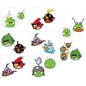 Imagen de Espacio de Angry Birds 16 tatuajes Hit Party Favors