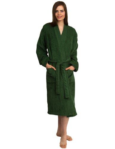 TowelSelections Women's Turkish Cotton Bathrobe Terry Kimono Robe Made in Turkey