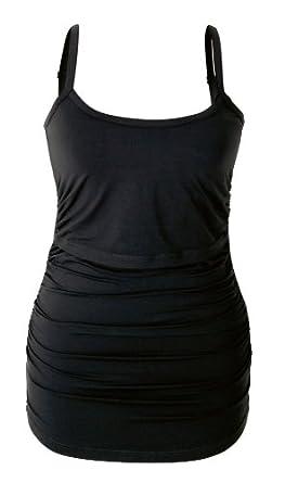 Boob Design - Débardeur fines bretelles - Noir Taille L Couleur Noir - noir