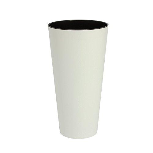 white-30-cm-diameter-tubus-slim-matte-series-flower-pot