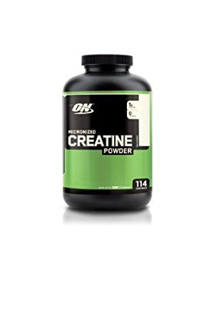 Optimum Nutrition Creatine Powder, Unflavored, 600g, 114 Servings by Optimum Nutrition (English Manual)