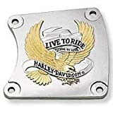 H-D Live to Ride Logo Chain Inspection Cover- 60653-92T