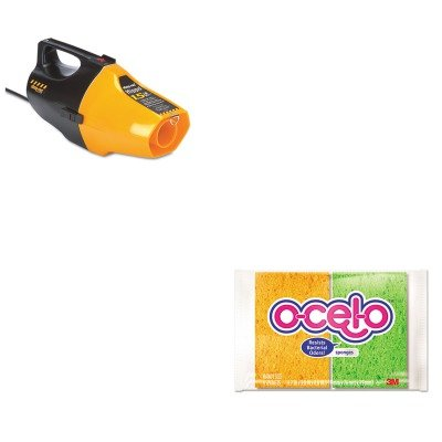 Kitmmm7274Tsho9991910 - Value Kit - Shopvac Hippo Handheld Vac (Sho9991910) And 3M O-Cel-O Sponge W/3M Stayfresh Technology (Mmm7274T) front-470798