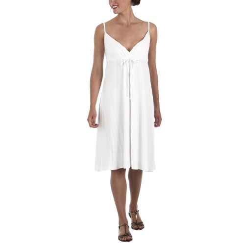 Isaac Mizrahi for Target® Empire Dress with Tie - White